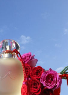 Flacon Rose d'Amour, Les parfums de Rosine
